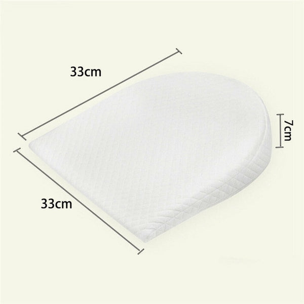 PUDCOCO Hot Newborn Baby Sleep Pillow Anti Baby Spit Milk Crib Cot Sleep Positioning Wedge Anti-Reflux Cushion Cotton Pad Mat