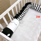 Baby Crib Bumper Plush Pillows Cushion Crocodile Crib Bumper Pads Baby Bed Liner Animal Pillows Children Newborn Cradle Bumper