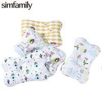 [Simfamily] Newborn Baby Pillows Baby Head Protection Baby Bedding Cushion Pad Kids Head  Concave Support Prevent Pillow