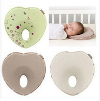 2019 Hot Infant Anti Roll Pillow Shape Toddler Sleeping Positioner Cushion Flat Head Protect Newborn Almohadas Baby Bedding