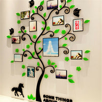 3D Photo Frame Family Tree DIY Wall Decal Stickers Living Room Bedroom Art Decor