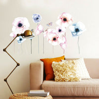 DI- Home Living Room Office Decor Removable Flowers Wall Sticker Art Decal Serap
