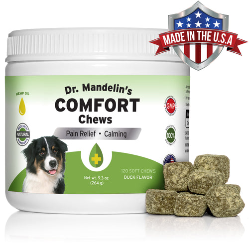 CALMING COMFORT Chews For Natural Relief of Anxiety, Stress and Pain