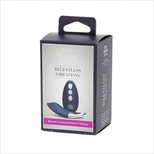 Relentless Vibrations Remote Control Knicker Vibrator Fifty Shades