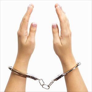 Fifty Shades You Are Mine Metal Handcuffs