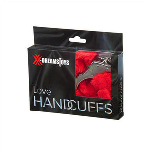 Red Fluffy Handcuffs - XX Dreams Toys