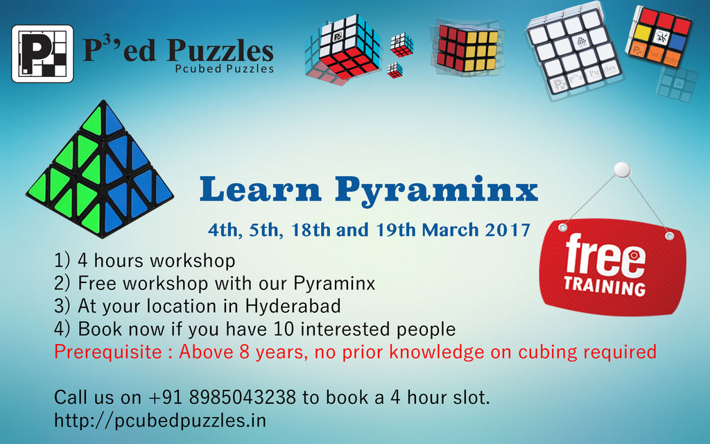 Free Pyraminx Training in Hyderabad