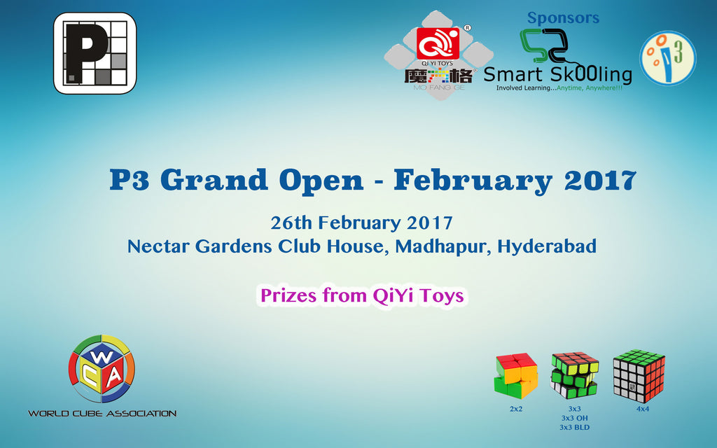 "<a href=""https://www.worldcubeassociation.org/competitions/P3GrandOpenFeb2017"">P3 Grand Open - February 2017</a>"