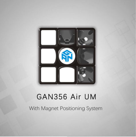 GAN 356 Air UM (Ultimate Magnetic) 3x3 - PCubed Puzzles