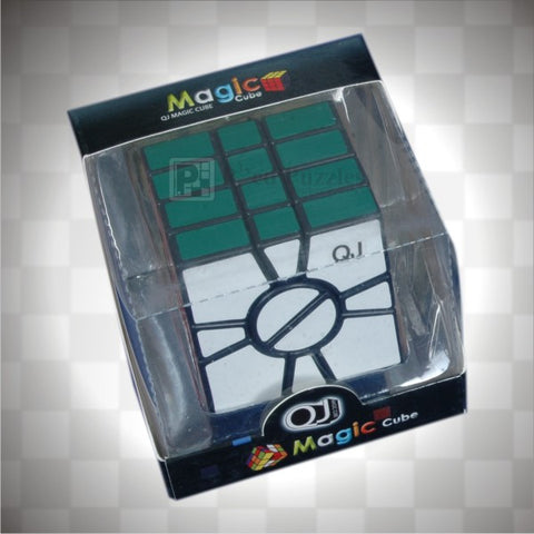 QJ four layer Square-1 - PCubed Puzzles
