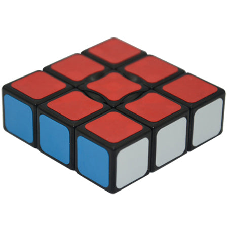 YJ 1X3X3 cube black floopy cube - PCubed Puzzles