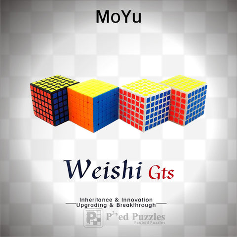 MoYu WeiShi GTS 6x6 - PCubed Puzzles