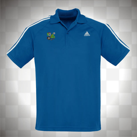 Adidas Men's 3 Stripes Polo T-Shirt - PCubed Puzzles