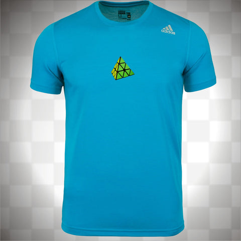 Adidas Men's Blue Prime Training T-shirt (Printed) - PCubed Puzzles