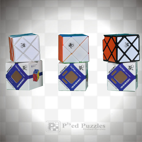 DaYan 4-Axis-4-Rank Skewb - PCubed Puzzles