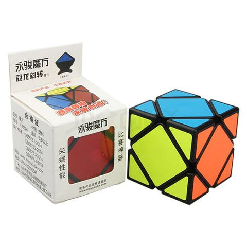 Yj Guanlong Skewb Black - PCubed Puzzles