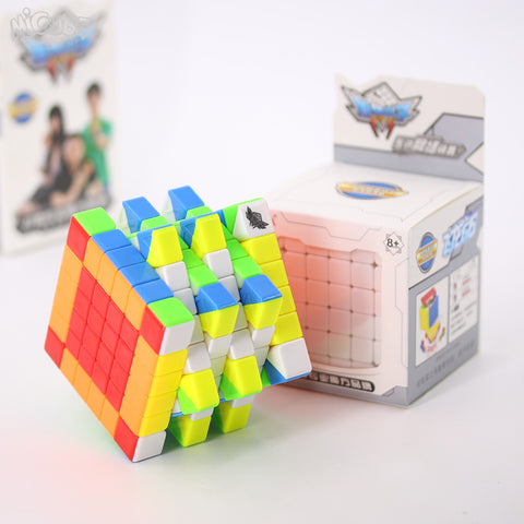 Cyclone boys Feilong 6x6x6 cube stickerless bright 68mm - PCubed Puzzles