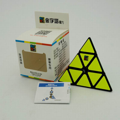 Pcubed Puzzles Moyu MF Classrom Pyraminx cube black - PCubed Puzzles