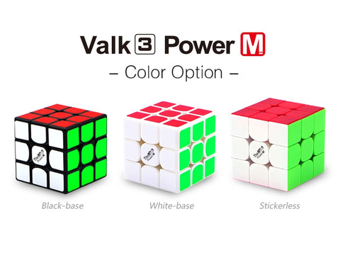 The Valk 3 power magnetic 555mm 3x3 magic cube - PCubed Puzzles