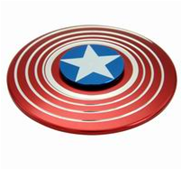 Shield of American Captain - fidget spinner (Aluminium)