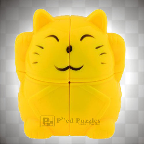 YJ Lucky Cat cube - PCubed Puzzles