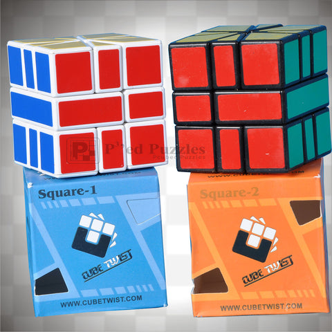 Three Layer SQ-1 and SQ-2 - PCubed Puzzles