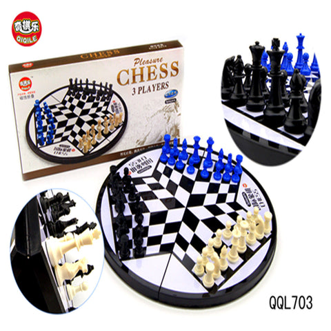 3 Players Chess - PCubed Puzzles