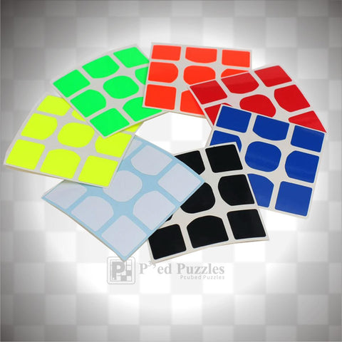 Moyu Weilong GTS 3x3 Stickers - PCubed Puzzles