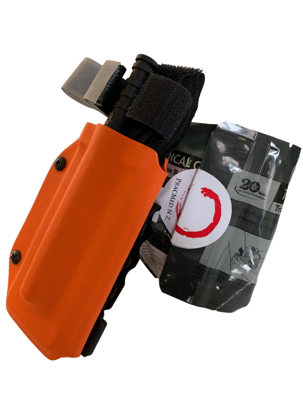 Mini-Trauma System + C-A-T® + TQ Holster. First Aid SystemsPracMed NZ- PracMed NZ, First Aid Products NZ