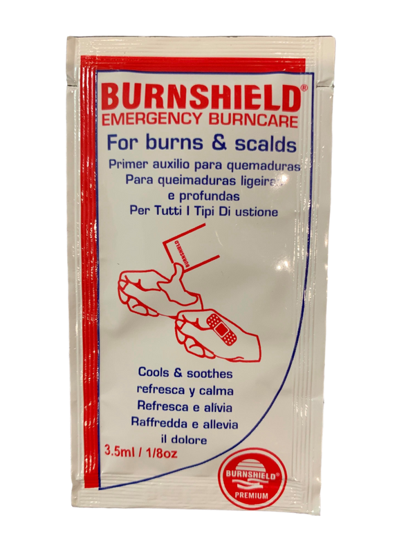 Hydrogel Sachet (3.5ml) BurnsBurnshield® Pty Ltd- PracMed NZ, First Aid Products NZ