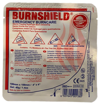 Burns Dressing (10cm x 10cm) Burns DressingBurnshield® Pty Ltd- PracMed NZ, First Aid Products NZ