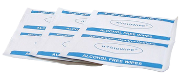 Alcohol Free Wipes - 10 pack (3.5g)