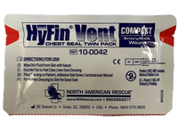 HyFin® Compact Chest Seal (Twin Pack) Chest SealNorth American Rescue®- PracMed NZ, First Aid Products NZ