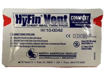 HyFin® Compact Chest Seal (Twin Pack)