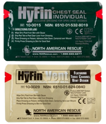 HyFin® Chest Seal (Combo Pack) Chest SealNorth American Rescue®- PracMed NZ, First Aid Products NZ