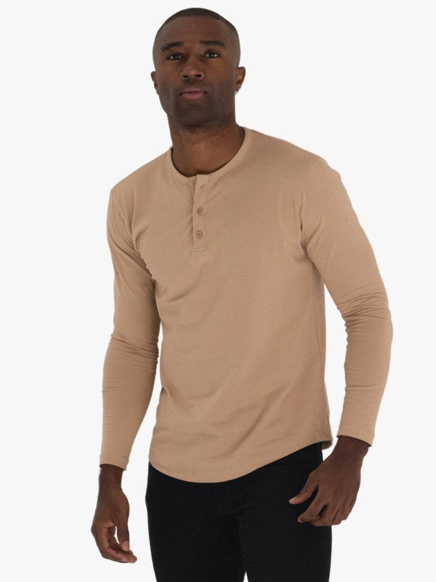 Long Sleeve Henley