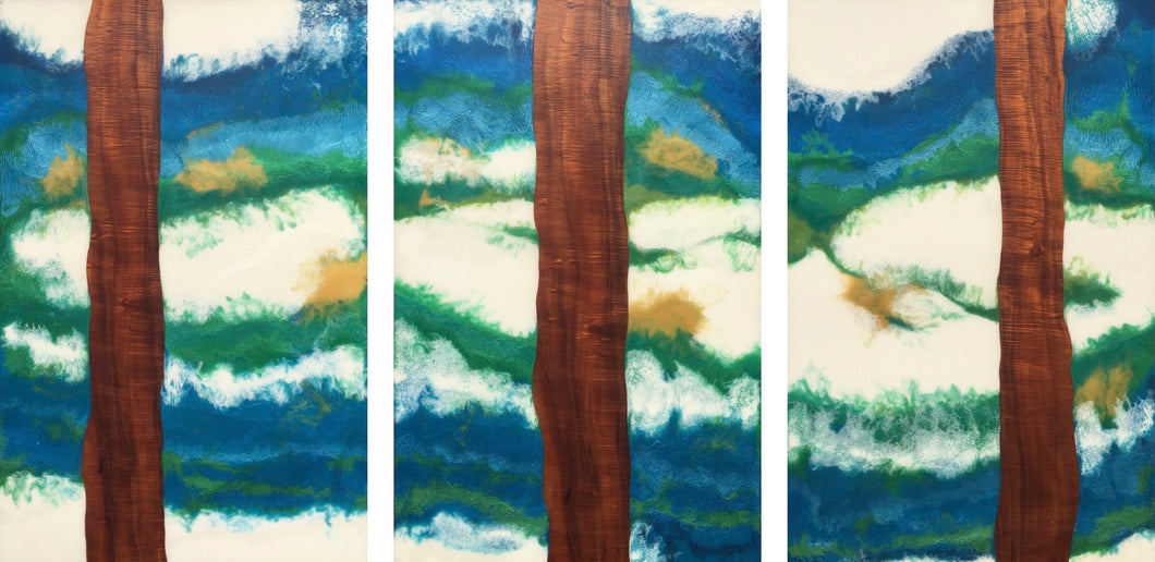 Forest to Sky Triptych by Timothy Allan Shafto