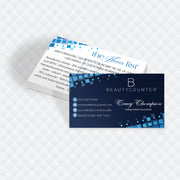 Personalized BeautyCounter Card, The Never List Business Cards 1
