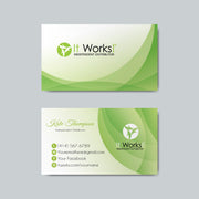 Printable It Work Business, Personalized It Work Business Cards IW04