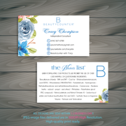 Personalized BeautyCounter Card, The Never List Business Cards 5