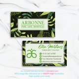 Arbonne Business Cards, Personalized Arbonne Cards AB95 - ToboArt