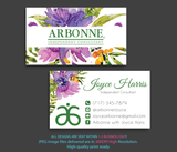 Arbonne Business Cards, Personalized Arbonne Cards AB23