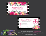 Arbonne Business Cards, Personalized Arbonne Cards AB13