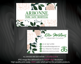 Arbonne Business Cards, Personalized Arbonne Cards AB89