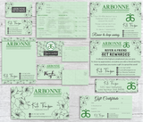 Arbonne Marketing Bundle, Personalized Arbonne Cards AB86