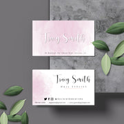 DIY Business Card Template, Editable Business Cards, Try Before You Buy