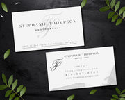 Photography Business Card Template, Editable Cards, Try Before You Buy BC11