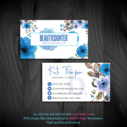 BeautyCounter Business Cards, Personalized BeautyCounter Cards BC16