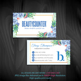 BeautyCounter Business Cards, Personalized BeautyCounter Cards BC12