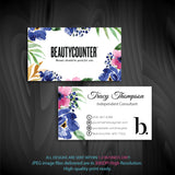 BeautyCounter Business Cards, Personalized BeautyCounter Cards BC13